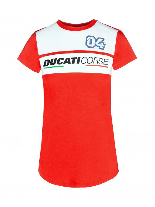 Woman's T-shirt Ducati Dual - Andrea Dovizioso