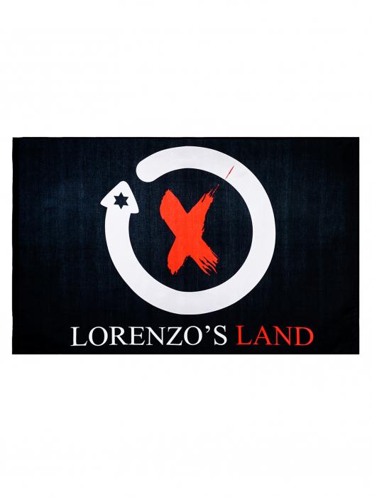 Drapeau Jorge Lorenzo 99 - Lorenzo's Land