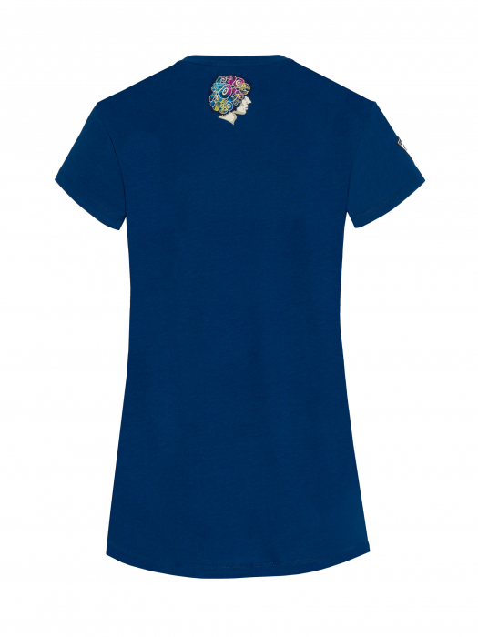 T-shirt women Marco Simoncelli - Fluo