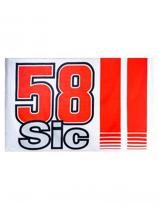 Flag Marco Simoncelli 58