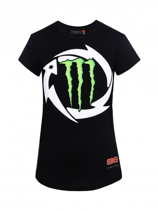 Women's T-shirt Jorge Lorenzo - Monster Dual