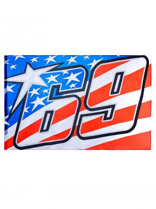 Bandiera Nicky Hayden 69