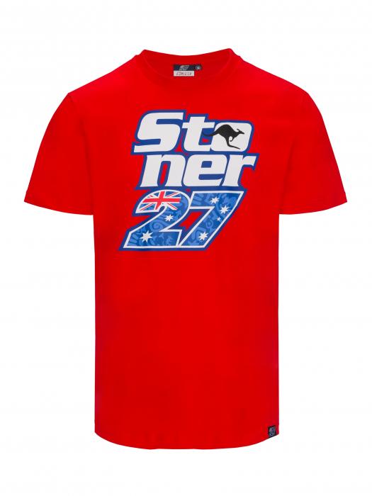 T-shirt Casey Stoner - Red