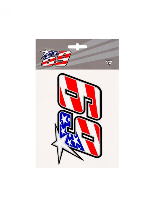 Autocollant Nicky Hayden 69