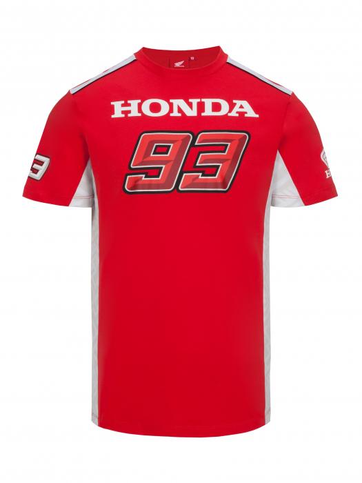 Camiseta Marc Marquez Honda Dual - rojo