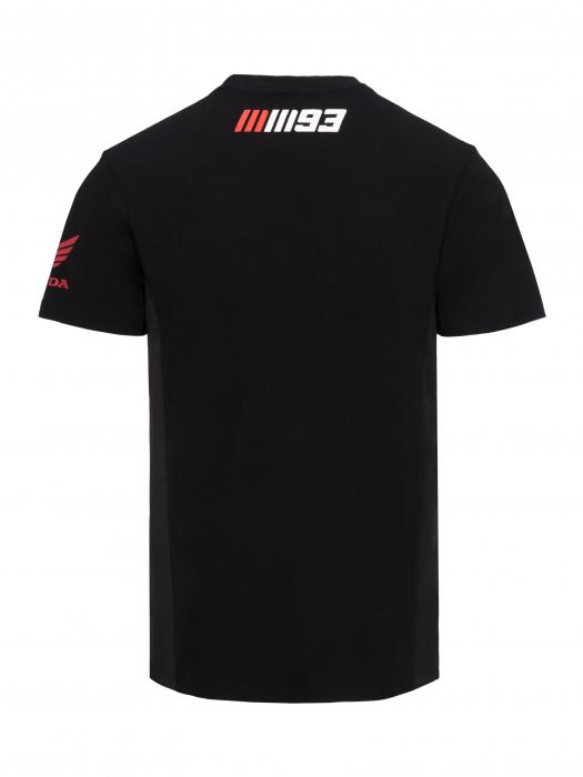 T-shirt Marc Marquez Honda Dual - Nera