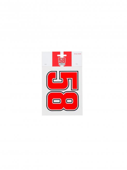 Sticker Marco Simoncelli 58