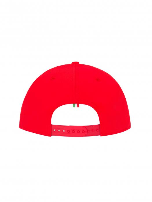 Cappello Flat Ducati - New Era - Rosso