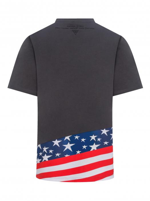 Nicky Hayden t-shirt - American flag