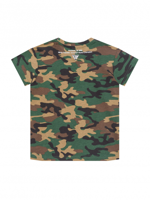 Nicky Hayden Kids T-shirt - Camo