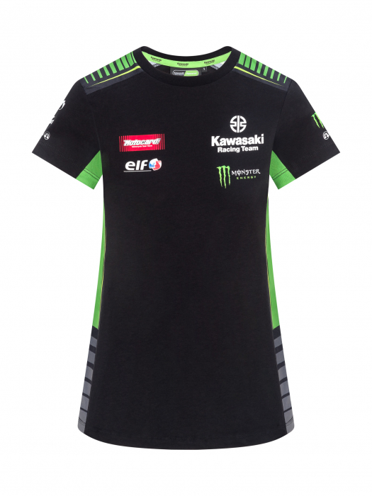 Femme Hdsqrt Team Kawasaki Réplique Racing Shirt T w08OnPk