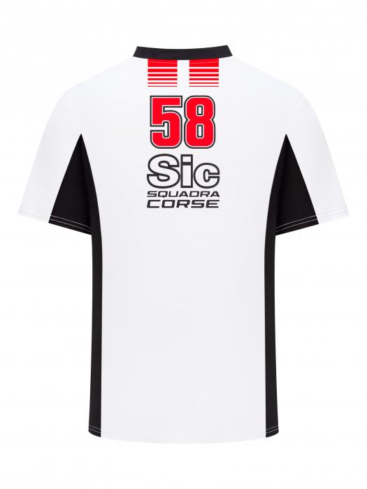 T-shirt Sic58 Squadra Corse - Bianca