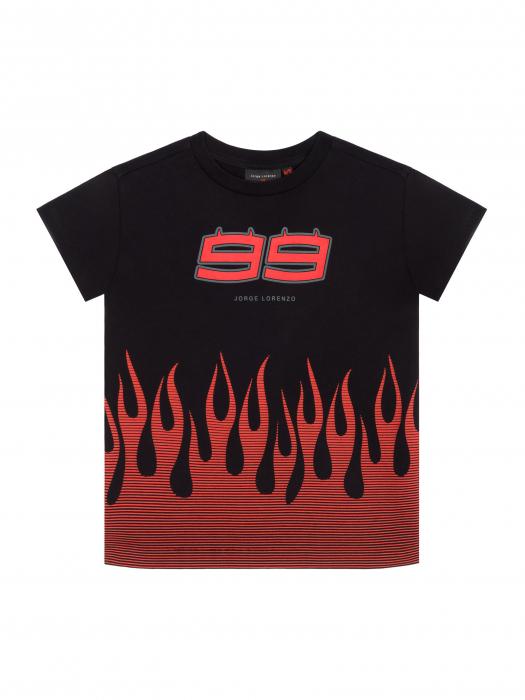 T-shirt da bambino Jorge Lorenzo - Flame