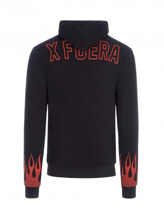Women's hoodie Jorge Lorenzo - Flames