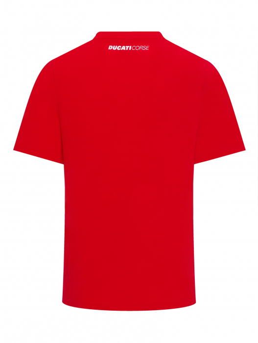Camiseta Ducati Corse - bandera italiana