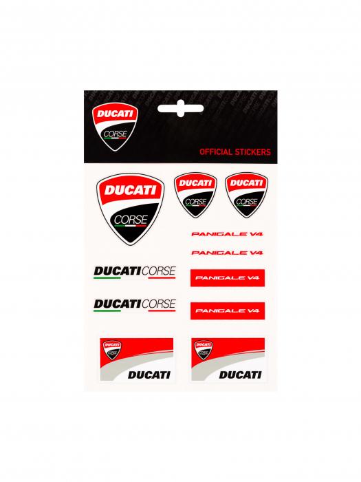 Ducati Corse Stickers - Medium