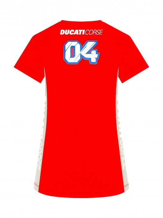 Andrea Dovizioso women's t-shirt - Ducati Dual 04