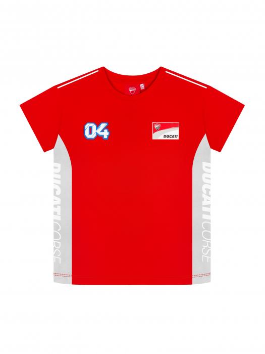 T-shirt da bambino Andrea Dovizioso Ducati Dual 04