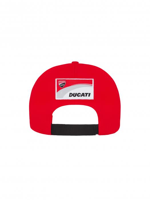 Cappello Ducati Corse - Visiera rossa, bianca e nera.