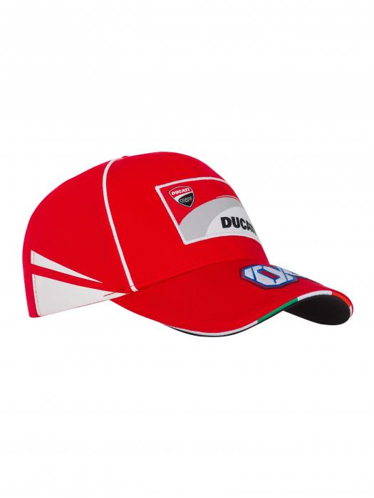 Cap Andrea Dovizioso Ducati Dual - Red