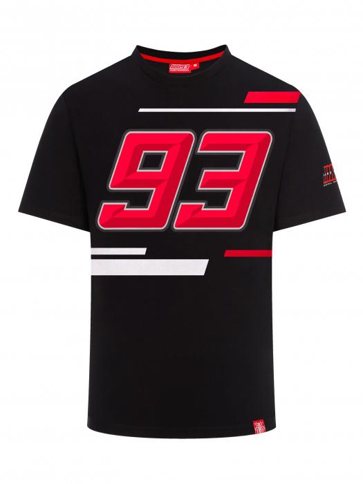 Marc Marquez T-shirt - 93 Black