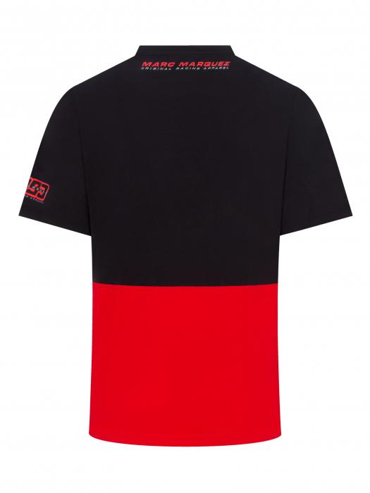 Marc Marquez T-shirt - nero e rosso