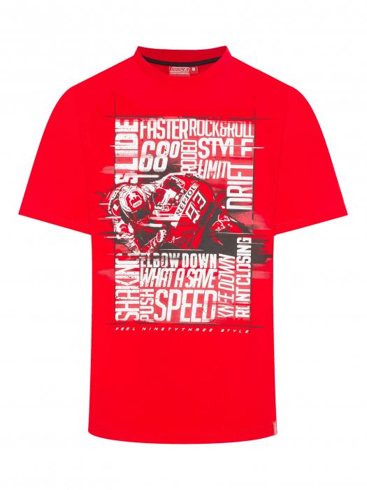 T-shirt Marc Marquez - Feel 93 Style