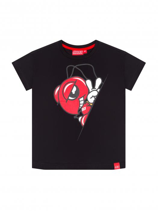 Kids T-shirt Marc Marquez - Black