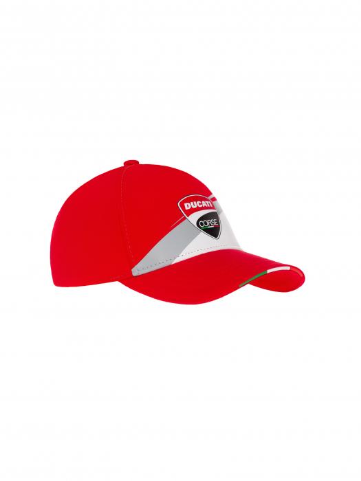 Gorra de niño Ducati Corse - roja
