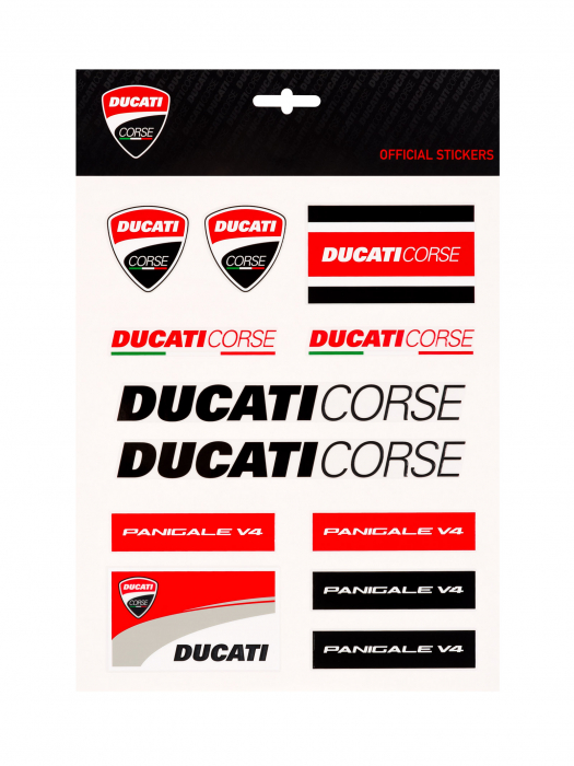 Ducati Corse Sticker Big