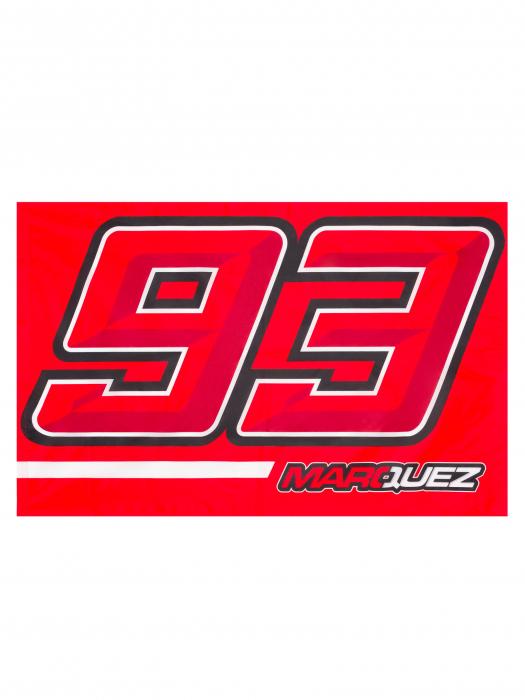 Drapeau Marc Marquez - 93 Marquez