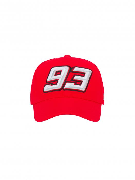 Casquette Marc Marquez - 93 rouge
