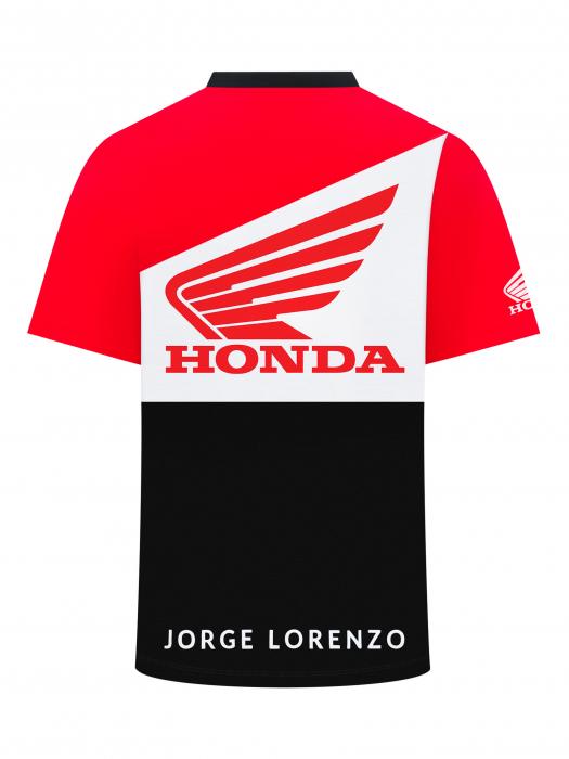 Camiseta Jorge Lorenzo Honda Dual - Big 99