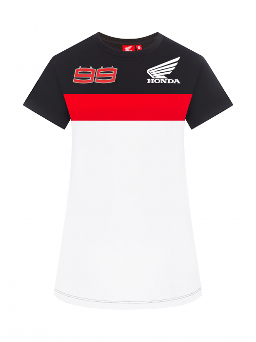 T-shirt da donna Jorge Lorenzo Honda Dual