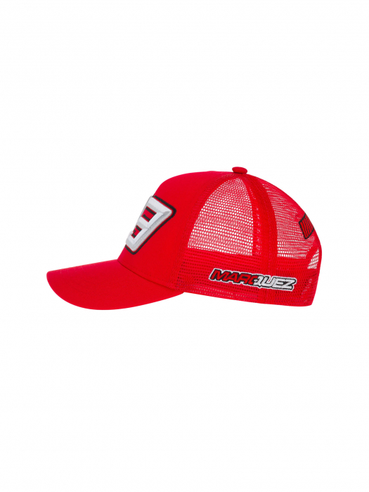 Marc Marquez kids cap - Trucker Red