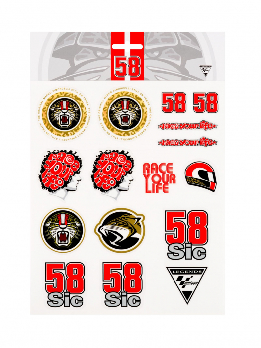 Stickers Marco Simoncelli - Big