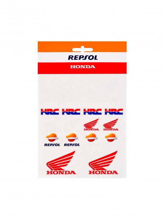 Pegatinas Repsol Honda - Medianos