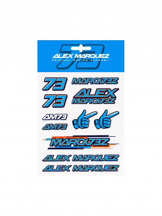 Alex Marquez Stickers - Medium