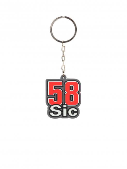 Keyring Marco Simoncelli - 58 Sic