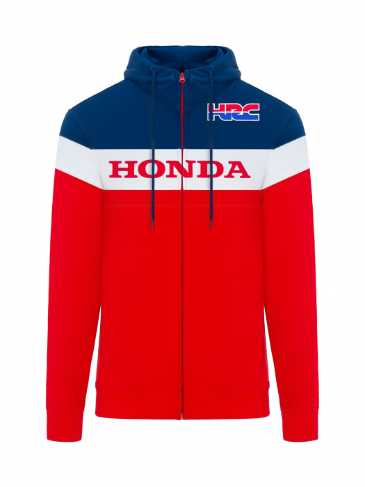 Sudadera Honda HRC - Rojo, azul, blanco