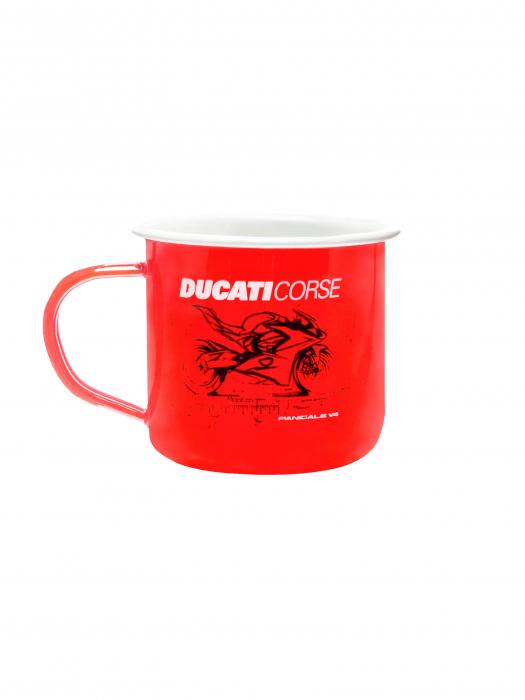 Ducati Corse Mug in Aluminum