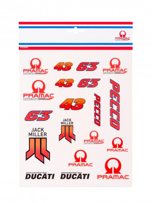 Pegatinas Ducati Pramac