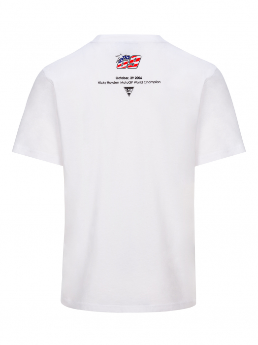 T-shirt Nicky Hayden - Flag 69 Legend