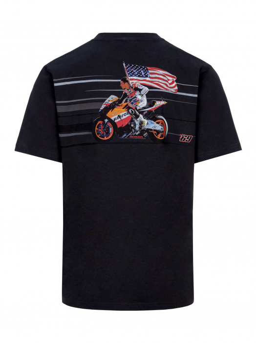 T-shirt Nicky Hayden - Photograpich Print