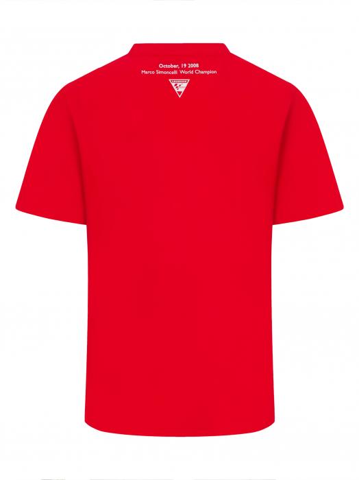 Marco Simoncelli Race Your Life T-shirt - Testina