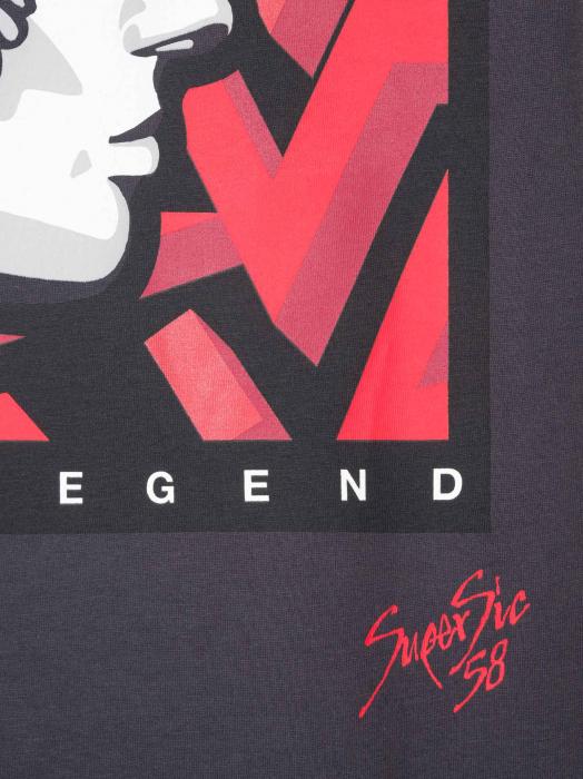 T-shirt Supersic58 Star Print