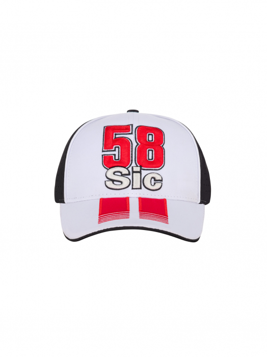 Cap Sic58 Trucker - Black & White