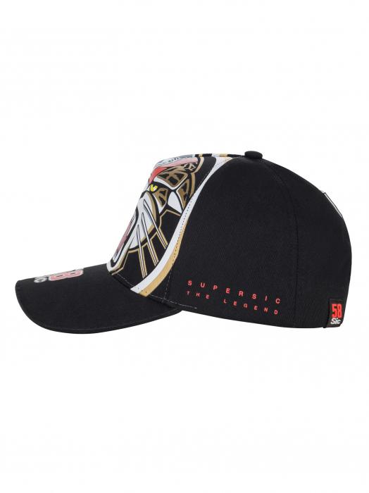 Baseball cap Marco Simoncelli - Jaguar 58