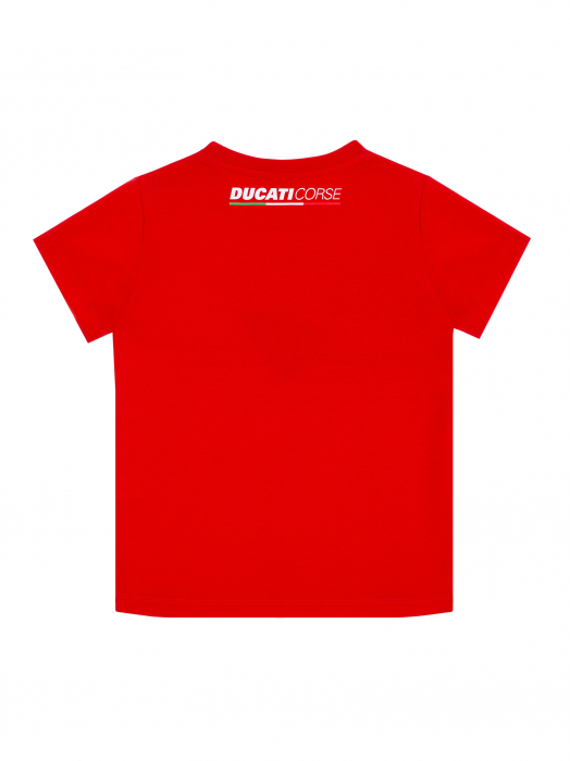 Kid T-shirt Ducati Dual Andrea Dovizoso 04 - Stripe