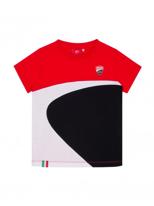 Kid T-shirt Ducati Corse - Mini logo